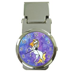 Unicorn II Money Clip with Watch