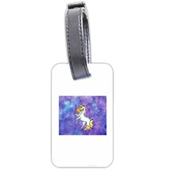 Unicorn Ii Luggage Tag (two Sides)