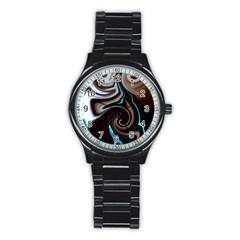L222 Sport Metal Watch (black)