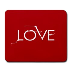 LOVE Large Mouse Pad (Rectangle)