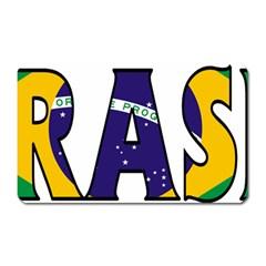 Brazil Magnet (Rectangular)