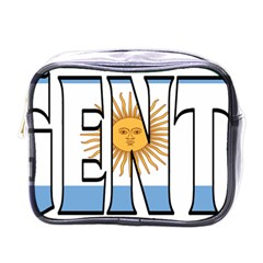 Argentina Mini Travel Toiletry Bag (One Side)