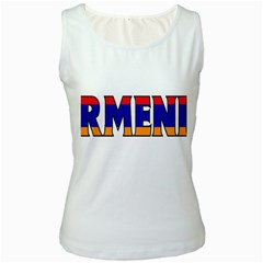 Armenia Womens  Tank Top (White)