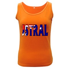 Australia Womens  Tank Top (Dark Colored)