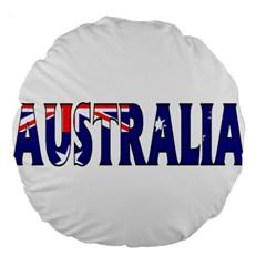 Australia 18  Premium Round Cushion