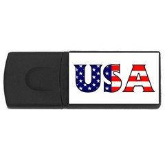 Usa 2GB USB Flash Drive (Rectangle)
