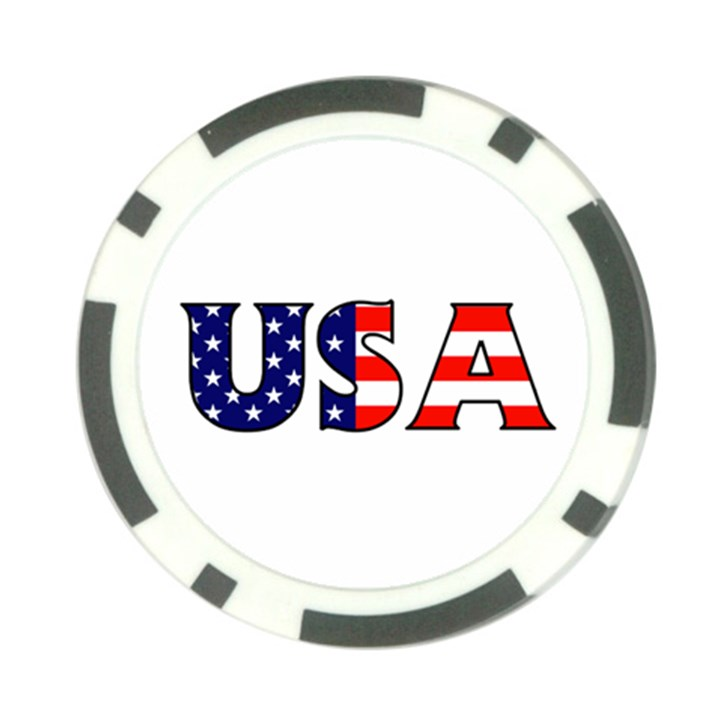 Usa Poker Chip