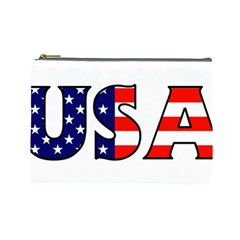 Usa Cosmetic Bag (Large)