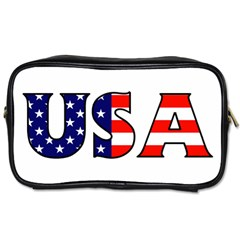 Usa Travel Toiletry Bag (One Side)