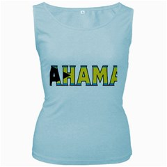Bahamas Womens  Tank Top (baby Blue)