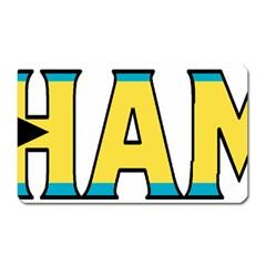 Bahamas Magnet (rectangular)