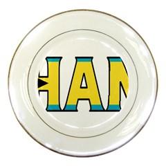 Bahamas Porcelain Display Plate