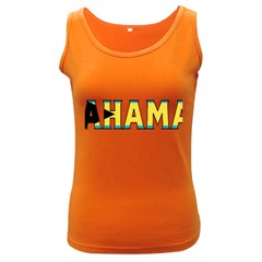 Bahamas Womens  Tank Top (dark Colored)