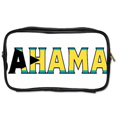 Bahamas Travel Toiletry Bag (One Side)