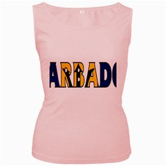 Barbados Womens  Tank Top (Pink)