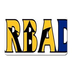 Barbados Magnet (Rectangular)