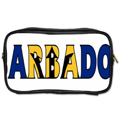 Barbados Travel Toiletry Bag (One Side)