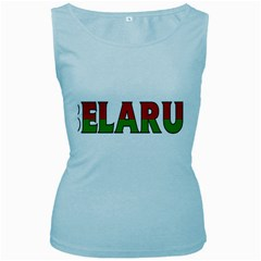 Belarus Womens  Tank Top (Baby Blue)