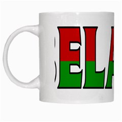Belarus White Coffee Mug