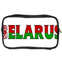 Belarus Travel Toiletry Bag (one Side)