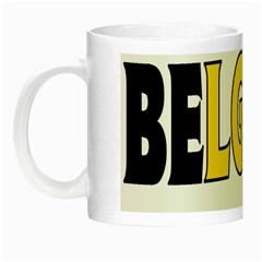 Belgium2 Glow in the Dark Mug