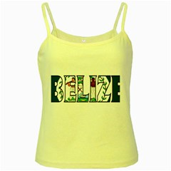Belize Yellow Spaghetti Tank