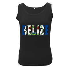 Belize Womens  Tank Top (black)