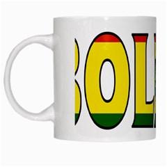 Bolivia White Coffee Mug