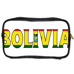 Bolivia Travel Toiletry Bag (One Side)