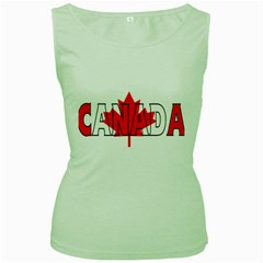 Canada Womens  Tank Top (green)