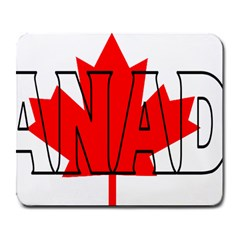 Canada Large Mouse Pad (Rectangle)