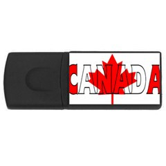 Canada 1GB USB Flash Drive (Rectangle)