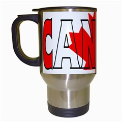 Canada Travel Mug (white)