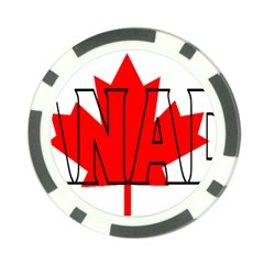 Canada Poker Chip