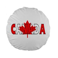 Canada 15  Premium Round Cushion