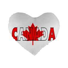 Canada 16  Premium Heart Shape Cushion