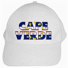 Cape Verde2 White Baseball Cap