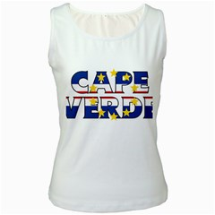 Cape Verde2 Womens  Tank Top (white)
