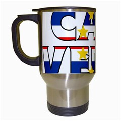 Cape Verde2 Travel Mug (White)