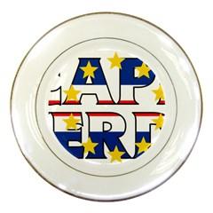 Cape Verde2 Porcelain Display Plate