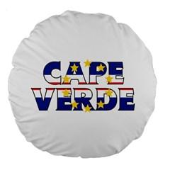 Cape Verde2 18  Premium Round Cushion