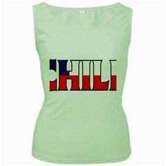 Chile Womens  Tank Top (Green)