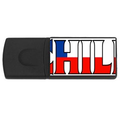 Chile 4GB USB Flash Drive (Rectangle)