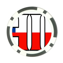 Chile Poker Chip
