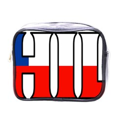 Chile Mini Travel Toiletry Bag (one Side)