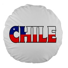 Chile 18  Premium Round Cushion