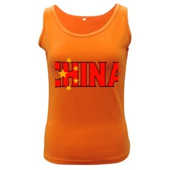 China Womens  Tank Top (Dark Colored)