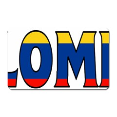 Colombia Magnet (Rectangular)