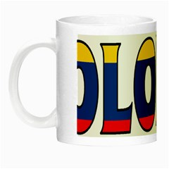 Colombia Glow in the Dark Mug
