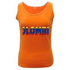 Colombia Womens  Tank Top (Dark Colored)